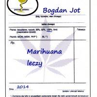 ksiązka o medycznej marihuanie