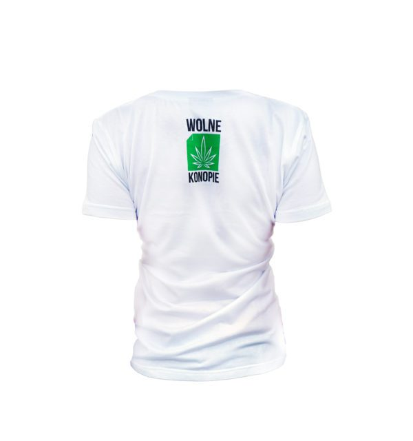 koszulka z liściem